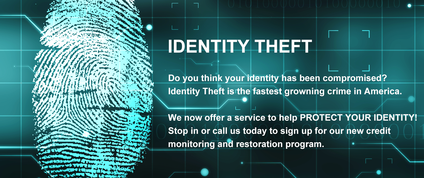 Identity Theft is growing in America